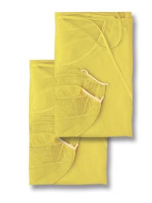 Bata hidrorepelente con elásticos  (longitud cm 110) amarillo