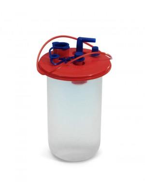 Bolsa monouso para recogida de líquidos contaminantes