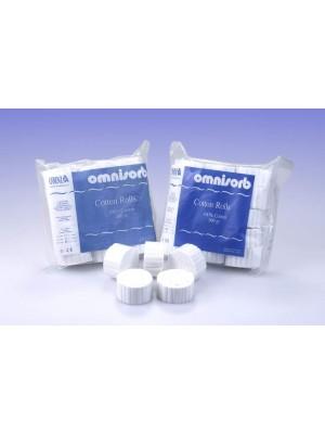 Rulli salivari in puro cotone Ø 10 mm OmniSorb