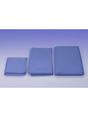 Telo cm 50x50 assorbente/impermeabile azzurro