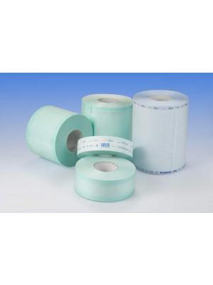 Rotoli carta/plastica per la sterilizzazione in autoclave mm 200x200 mt