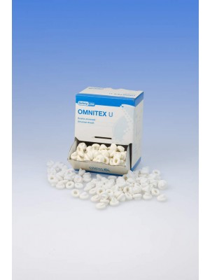 Funda universal  OMNITEX  U - Látex Free - nitrilo - blanco