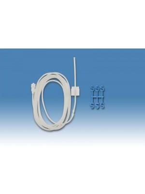 Prolongación con Luer y regulador de flujo sin perforador 1