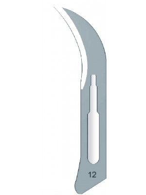Lama da bisturi sterile monouso