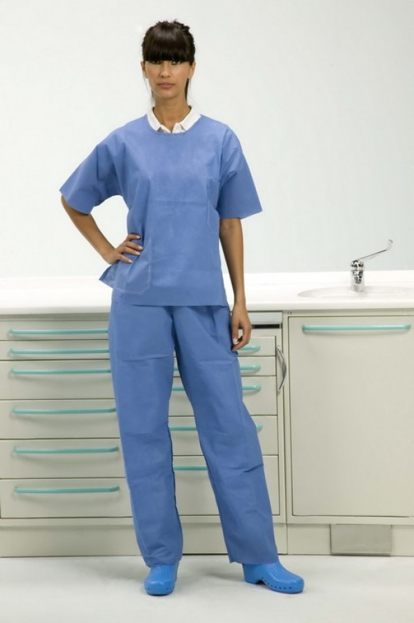 Short-sleeve jacket with trousers M