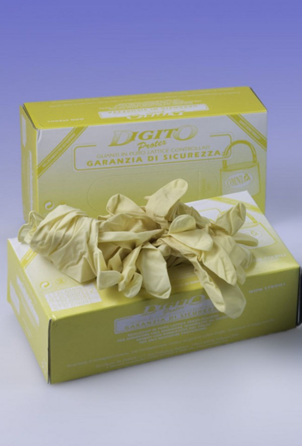 Guanti con grip senza polvere Digitoprotex® taglia S